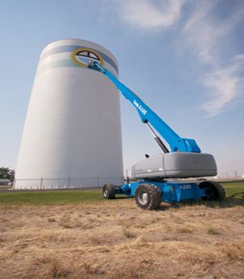 34 m Diesel Telescopic Lift