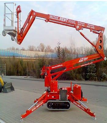 19 Metre Dizel Spider Platformlar