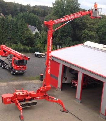 40 Metre Dizel Spider Platformlar