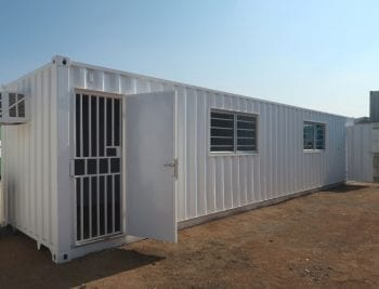 3mX7m Two Room Office Container
